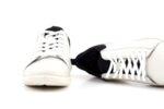 Мъжки бели спортни обувки от естествена кожа 57.18060