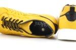 Мъжки спортни жълти обувки от естествена кожа 57.29702