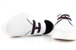 Мъжки бели спортни обувки от естествена кожа 57.944