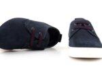 Спортни сини мъжки обувки от естествен набук 57.944