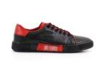 Мъжки спортни черни обувки от естествена кожа 57.72802