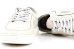 Мъжки бели спортни обувки от естествена кожа 57.48711