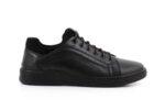 Мъжки спортни черни обувки от естествена кожа 57.940