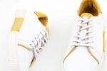 Мъжки бели спортни обувки от естествена кожа 57.72802