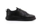 Мъжки спортни черни обувки от естествена кожа 57.24803