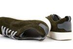 Мъжки спортни зелени обувки от естествен велур 57.72807