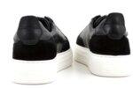 Мъжки спортни черни обувки от естествена кожа 57.19106