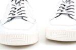 Мъжки бели спортни обувки от естествена кожа 57.72805