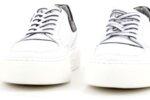 Мъжки бели спортни обувки от естествена кожа 57.19106