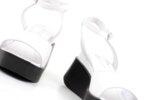 Ежедневни бели дамски сандали от естествена кожа 06.39621