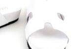 Дамски бели чехли от естествена кожа 06.33521