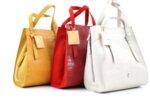 Дамска жълта чанта от еко кожа 47.50073