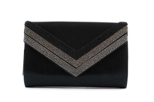Дамска черна чанта от еко кожа 47.84664