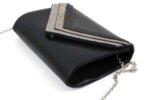 Дамска черна чанта от текстил 47.84664
