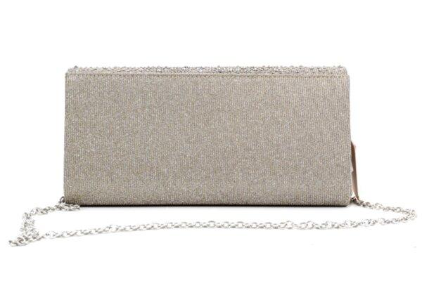 Дамска сива чанта от еко кожа 47.84847