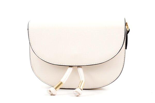 Дамска бежова чанта от еко кожа 47.50068