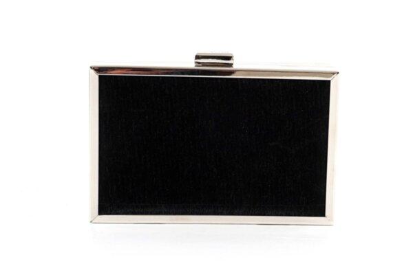 Дамска черна чанта от еко кожа 47.84492