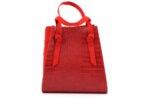 Дамска червена чанта от еко кожа 47.50073