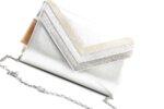 Дамска сива чанта от текстил 47.84664
