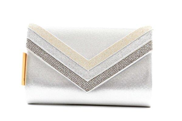 Дамска сива чанта от еко кожа 47.84664