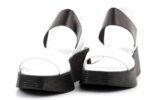 Ежедневни бели дамски сандали от естествена кожа 56.2605