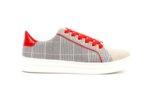 Спортни сиви дамски обувки от еко кожа 47.22377