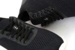Спортни черни мъжки обувки от еко кожа 57.41302