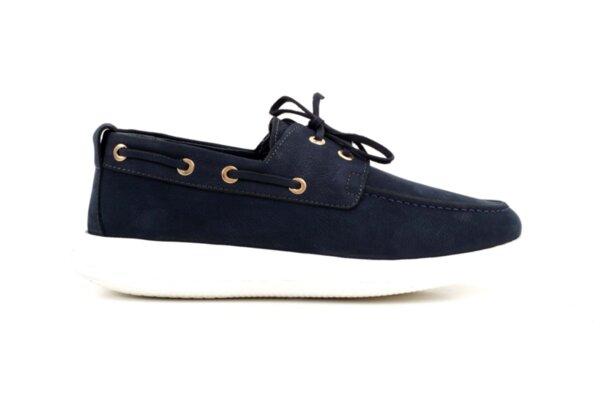 Спортни сини мъжки обувки от естествен набук 57.920