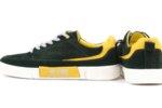 Мъжки зелени спортни обувки от естествен велур 57.72805