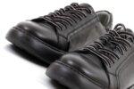 Спортни черни мъжки обувки от естествена кожа 57.25503