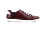 Ежедневни мъжки обувки от естествена кожа в цвят бордо 57.926