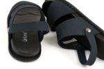 Ежедневни сини мъжки сандали от естествена кожа 57.312