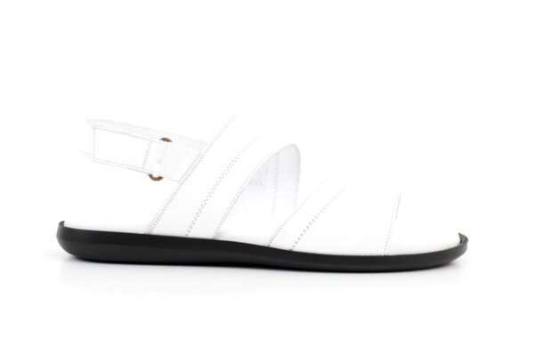 Ежедневни бели дамски сандали от естествена кожа 57.562