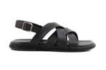 Ежедневни черни мъжки сандали от естествена кожа 57.555