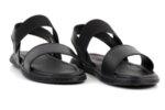 Ежедневни черни мъжки сандали от естествена кожа 57.558