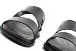 Ежедневни черни мъжки сандали от естествена кожа 57.312