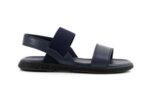 Ежедневни сини мъжки сандали от естествена кожа 57.558