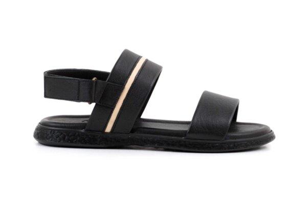 Ежедневни черни мъжки сандали от естествена кожа 57.573