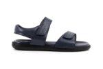 Ежедневни сини мъжки сандали от естествена кожа 57.150