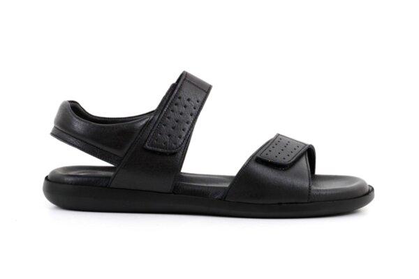 Ежедневни черни мъжки сандали от естествена кожа 57.150