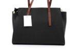 Дамска черна чанта от еко кожа 17.2460