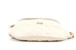 Дамска бежова чанта за кръст от еко кожа 17.229