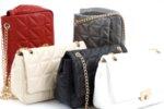Дамска червена чанта от еко кожа 17.2289