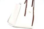 Дамска бяла чанта от еко кожа 17.2460