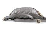 Дамска сива чанта за кръст от еко кожа 17.229
