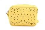 Дамска жълта чанта от еко кожа 17.2219