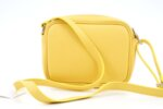 Дамска жълта чанта от еко кожа 17.2362