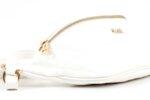 Дамска бяла чанта за кръст от еко кожа 17.229