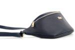 Дамска синя чанта за кръст от еко кожа 17.2298