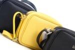 Дамска черна чанта от еко кожа 17.2219